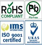 ROHS & ISO Logos 140px